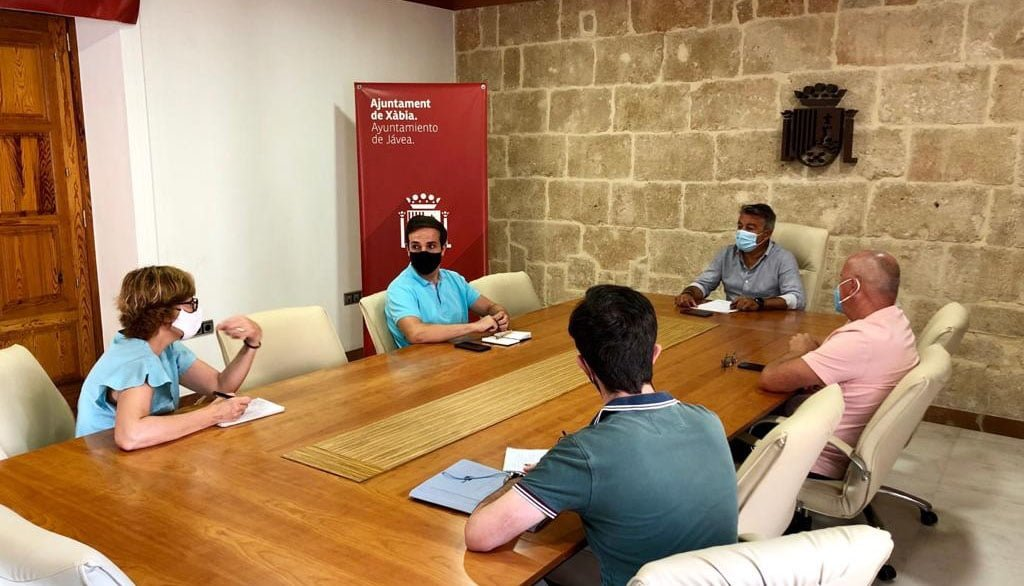 Junta de portavoces en el Ayuntamiento de Xàbia