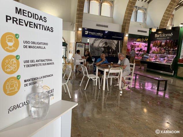 Imagen: Mercat, lugar seguro frente al COVID
