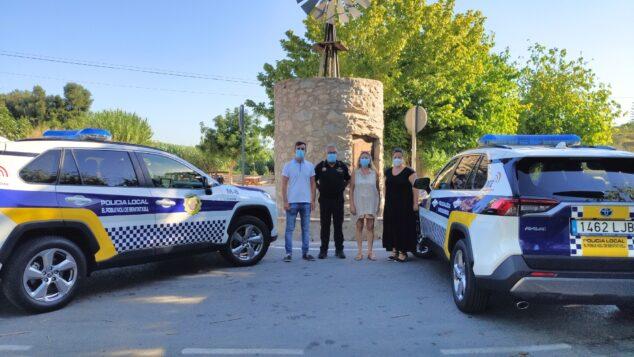 Imagen: Nuevos vehículos de la Policía Local de Benitatxell