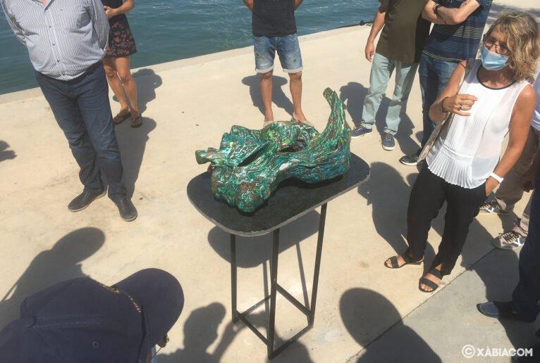 Obra expuesta en 'Esculturas frente al mar'