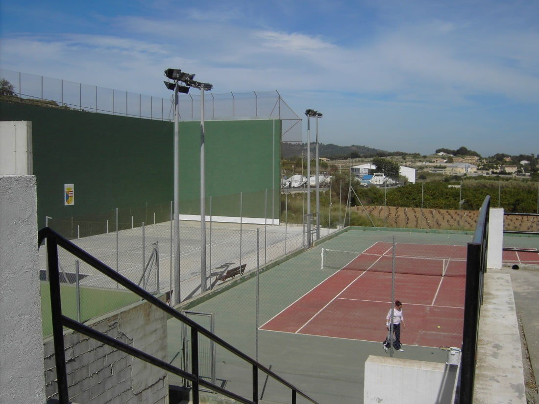 Pistas deportivas de El Poble Nou de Benitatxell