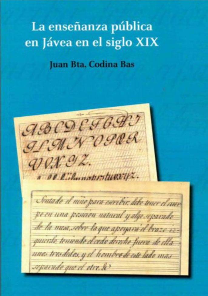 Portada del libro 'Enseñanza en el siglo XIX'