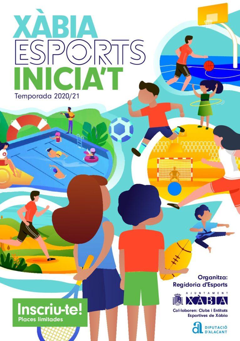Programa completo de Actividades deportivas Xàbia 2020-2021