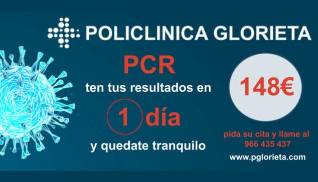Imagen: Prueba PCR en Dénia - Policlínica Glorieta