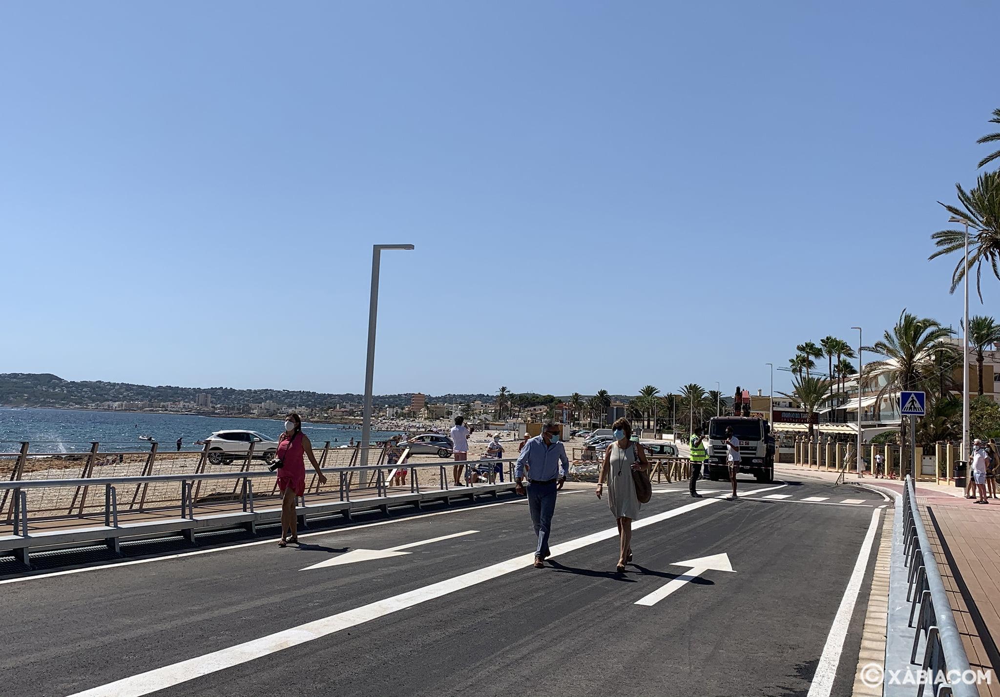 Le nouveau pont Triana rouvre
