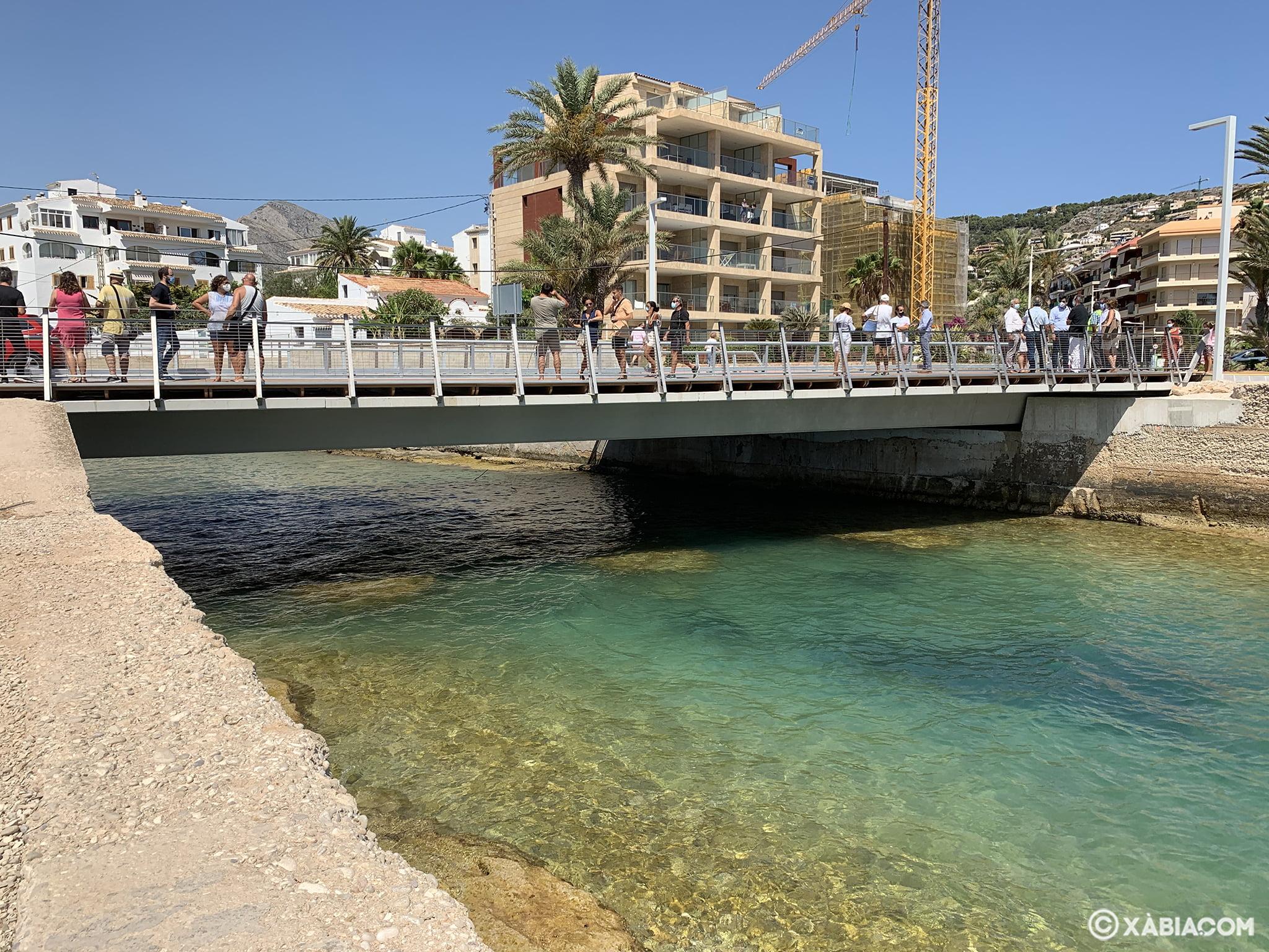 Réouverture du pont Triana de Xàbia