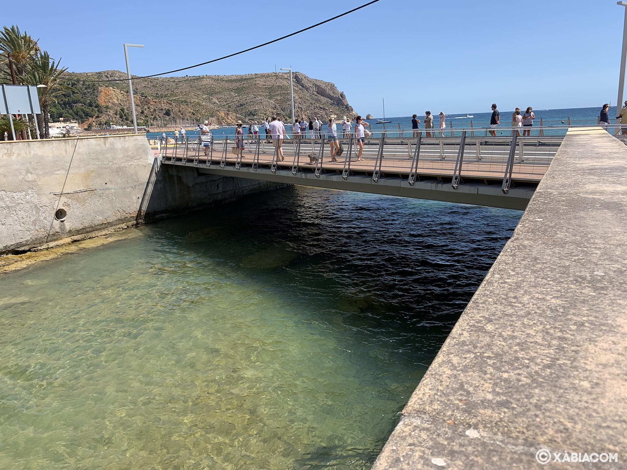 Réouverture du pont de Triana