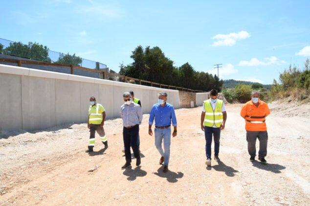 Imagen: Reparado el muro de contención del río Gorgos