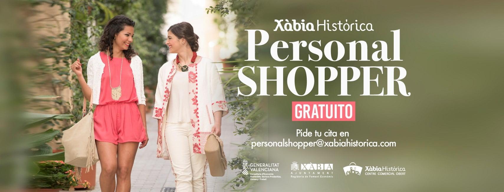 Servicio de Personal Shopper en Xàbia Histórica