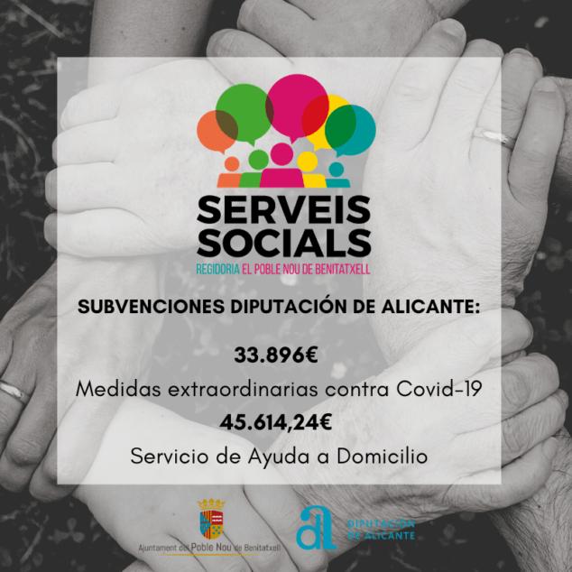 Imagen: Subvención para Servicios Sociales de Benitatxell