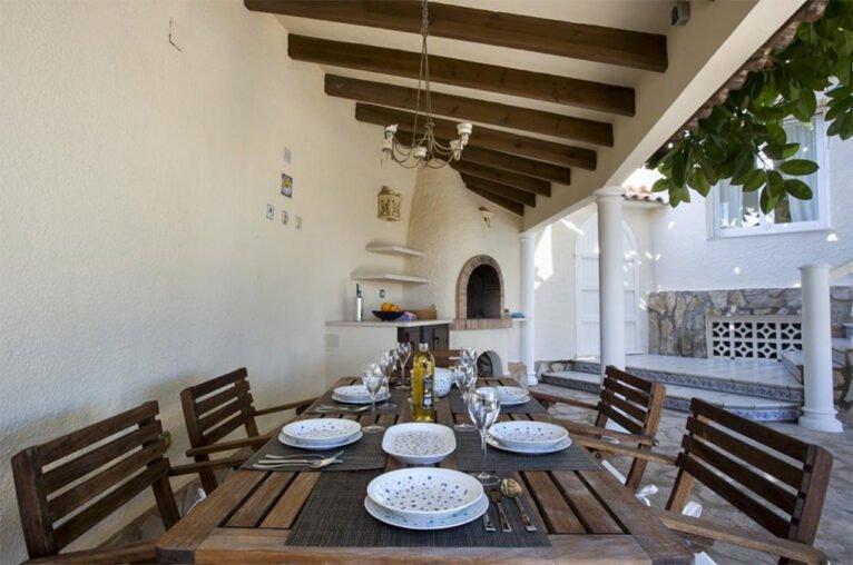 Terraza Casa Ambolo - Terramar Costa Blanca