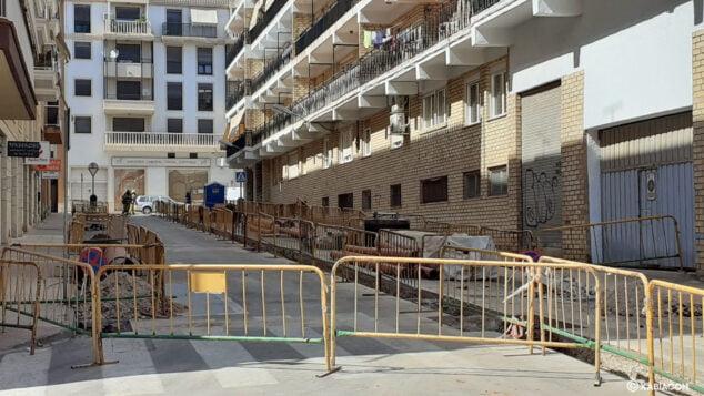 Imagen: Tramo de calle donde se ha producido la fuga