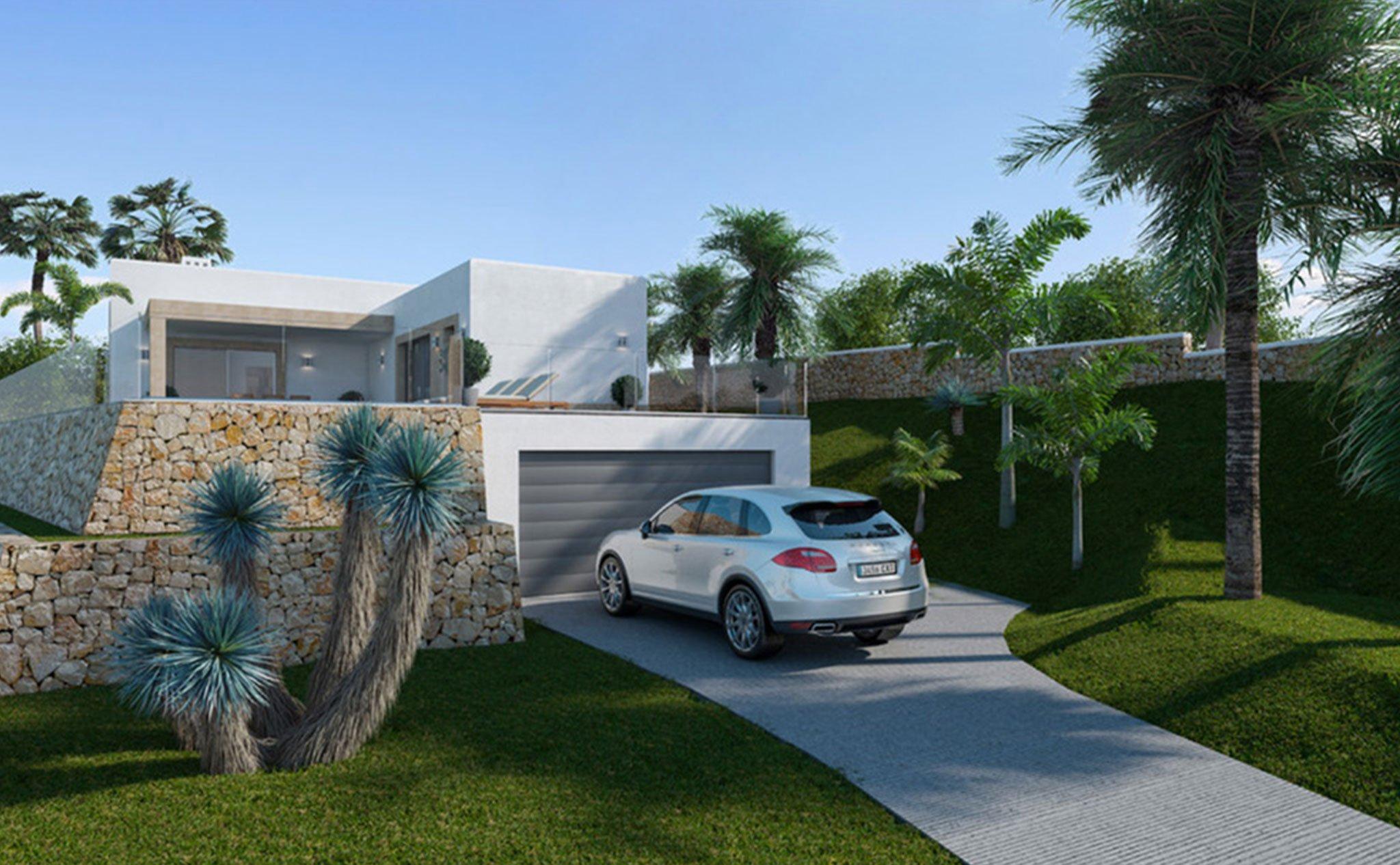 Vista exterior de 'Casa Diana' – Lucas Graf Projects