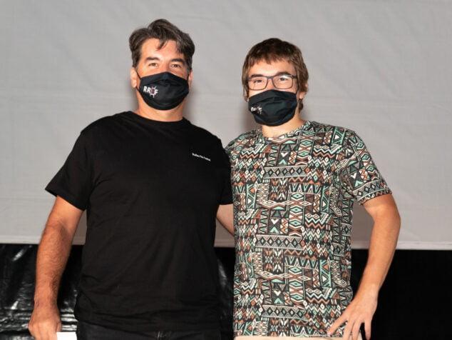 Imatge: Manu Font i Jordi Dominguis guanyadors en RRFF