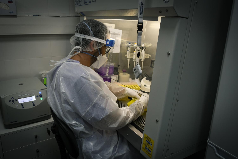 Análisis PCR en el Hospital de Dénia