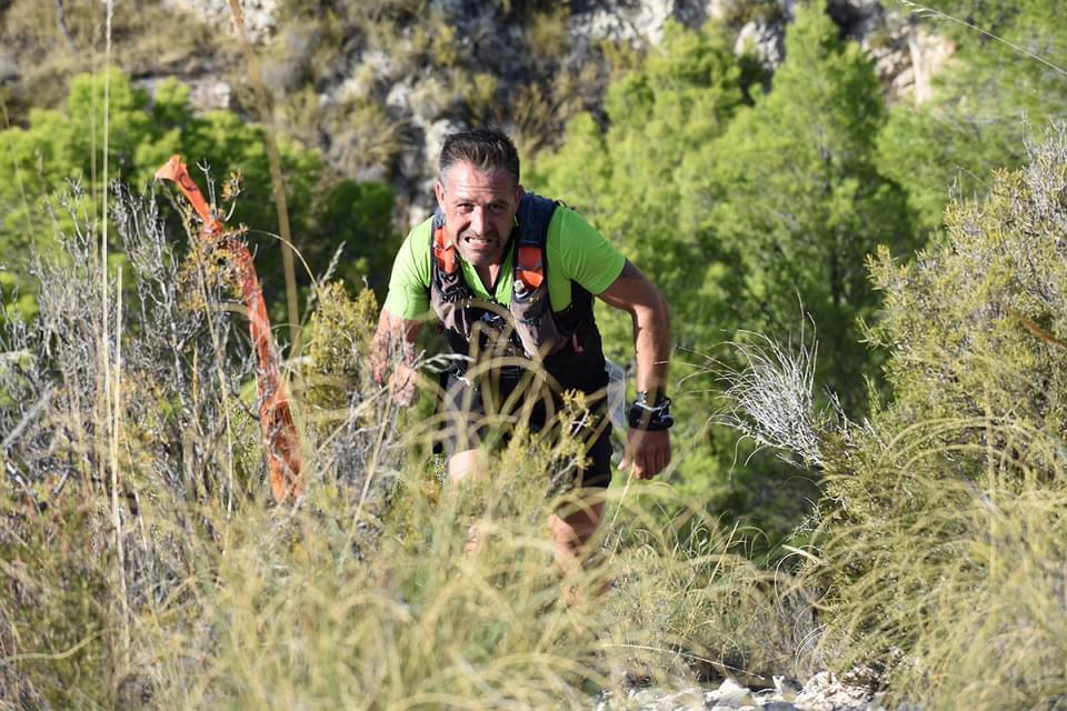 Atleta del Llebeig durante la carrera