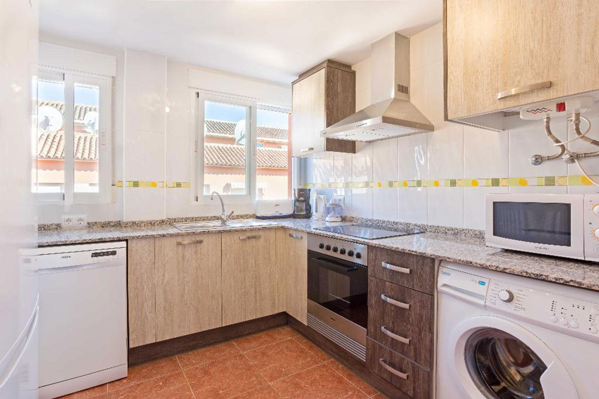 Cocina de un apartamento en alquiler en Jávea – MMC Properties