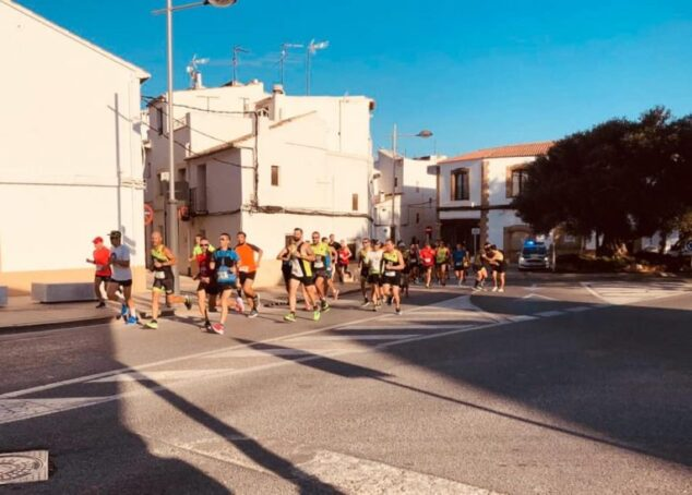 Image: Runners at the 2019 Cross Baix Montgó