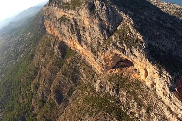 Vista de la Cova Ampla