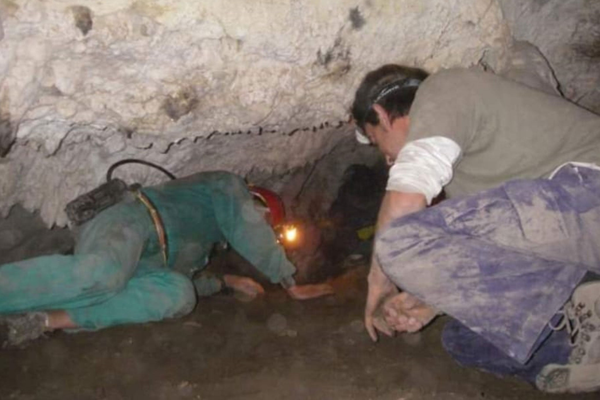 Interior de la Cova del Montgó (Imagen: Centre Excursionista de Xàbia)