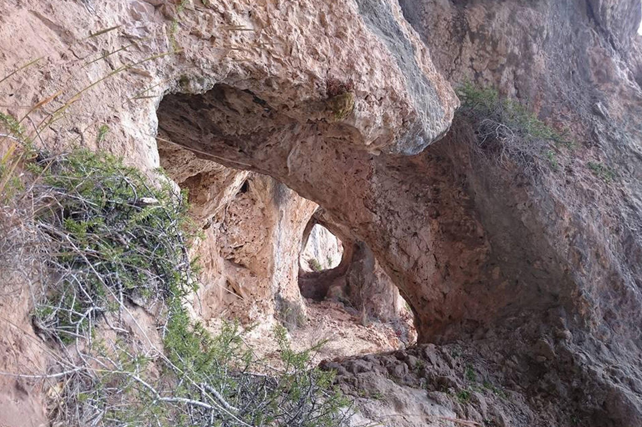 Cova del Montgó en Xàbia (Foto: Miguel Ángel Mayans)