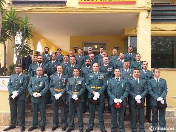 Cuerpo de la Guardia Civil en el Día del Pilar