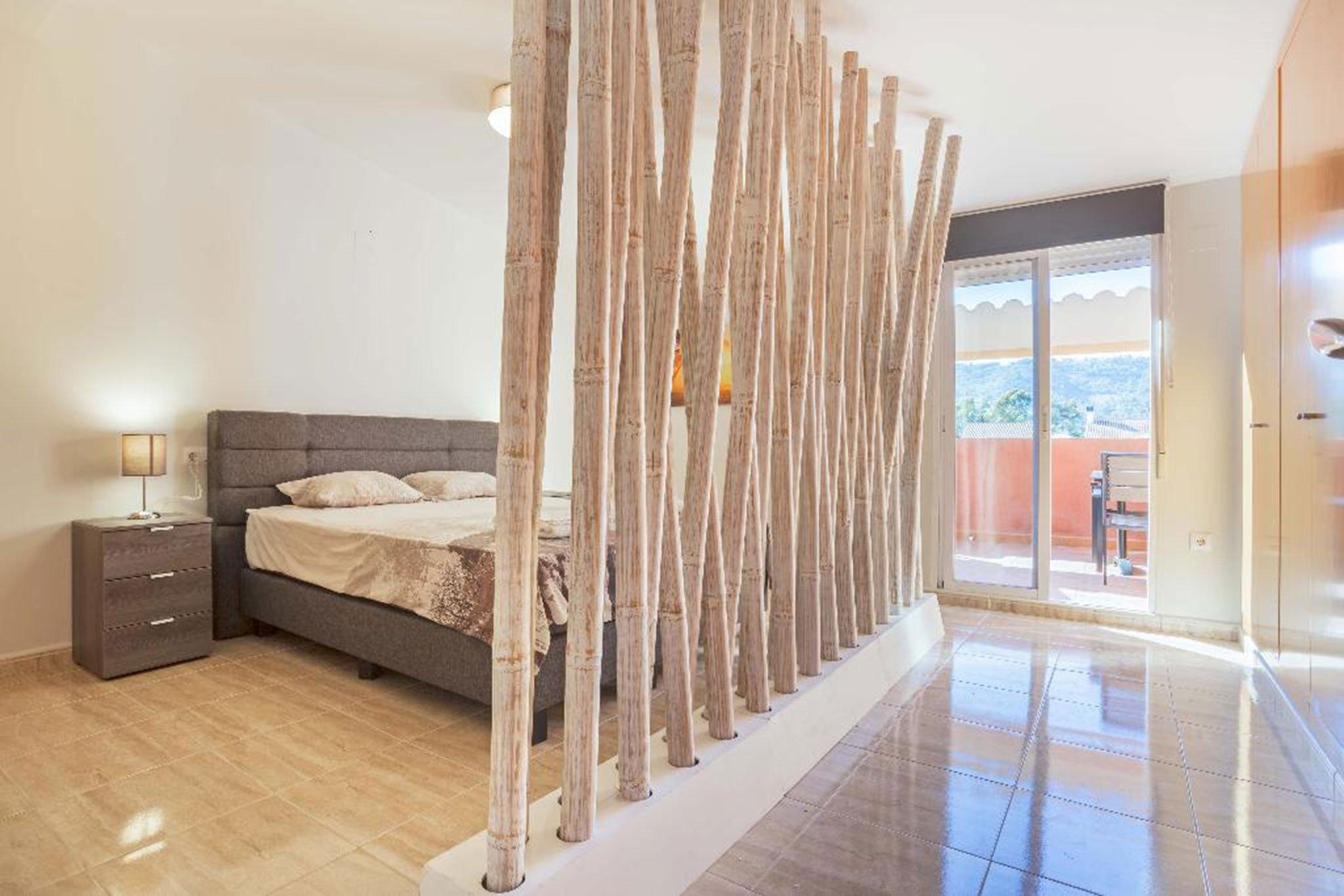 Dormitorio de un apartamento en alquiler en Jávea – MMC Properties