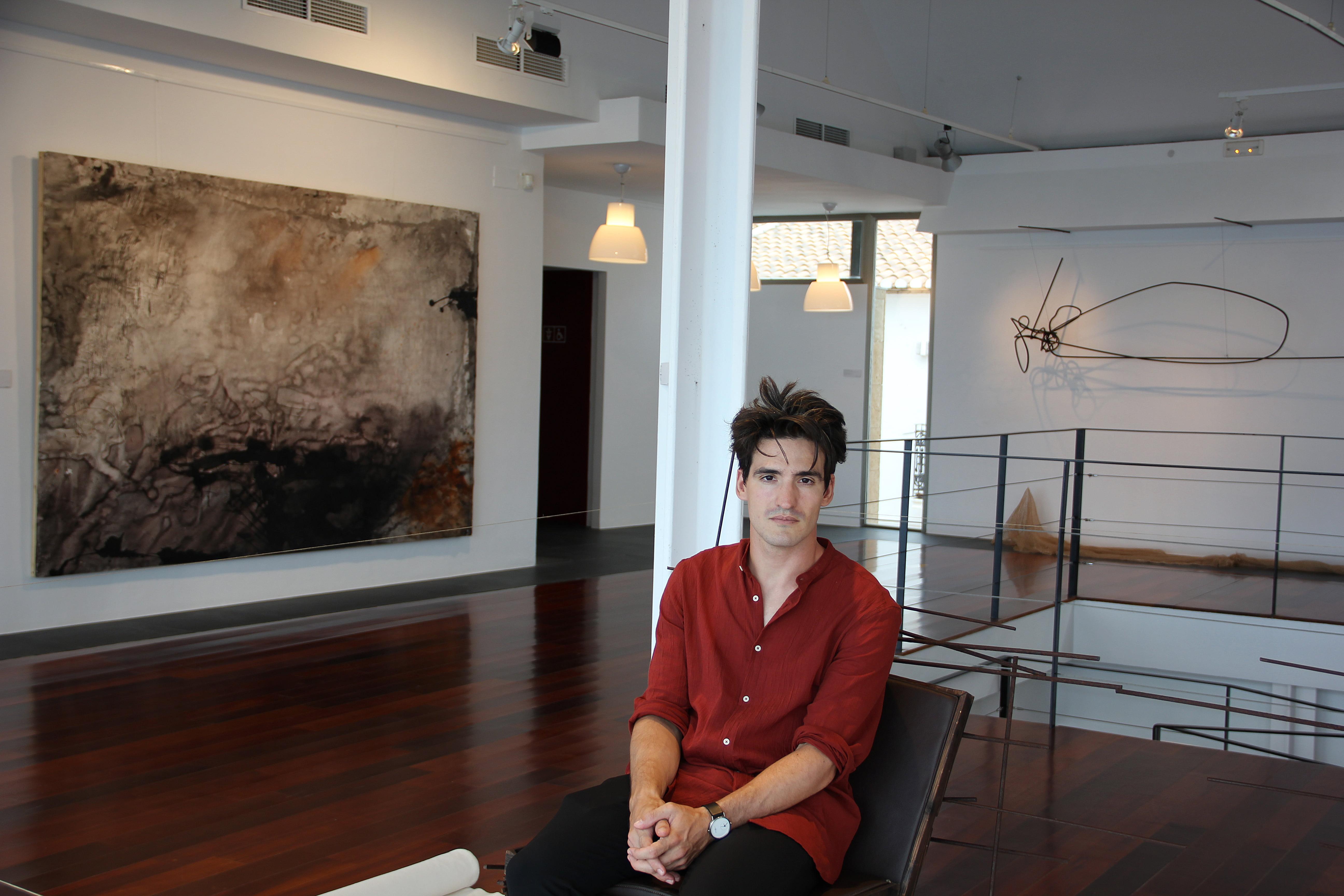 El artista Andrés Escrivá