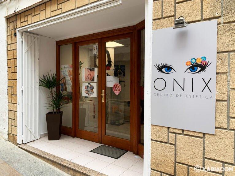 Fachada de Centro de Estética ONIX
