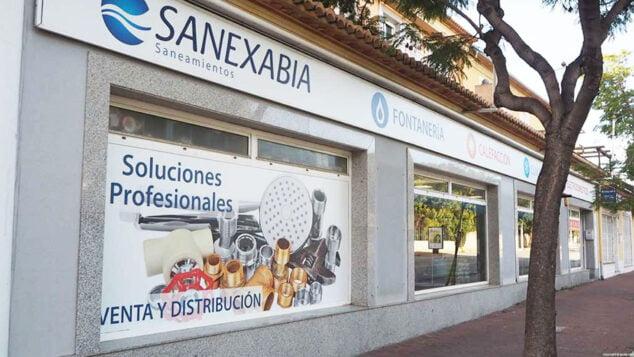 Imagen: Fachada de Sanexabia Saneamientos