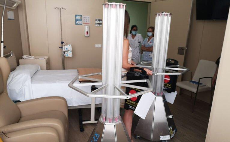 Formación del personal de limpieza en el uso de la tecnología - Hospital Clínica Benidorm (HCB)