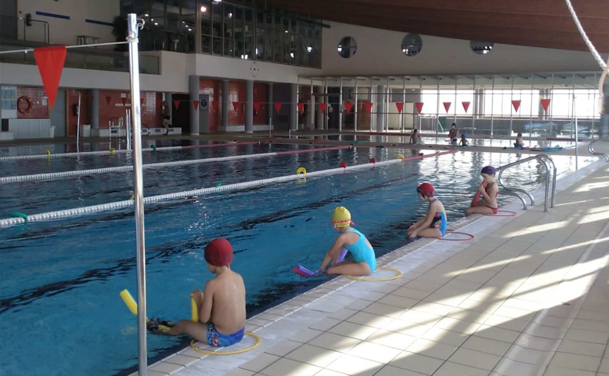 Medidas de seguridad en los cursos de natación – Centro Deportivo Dénia