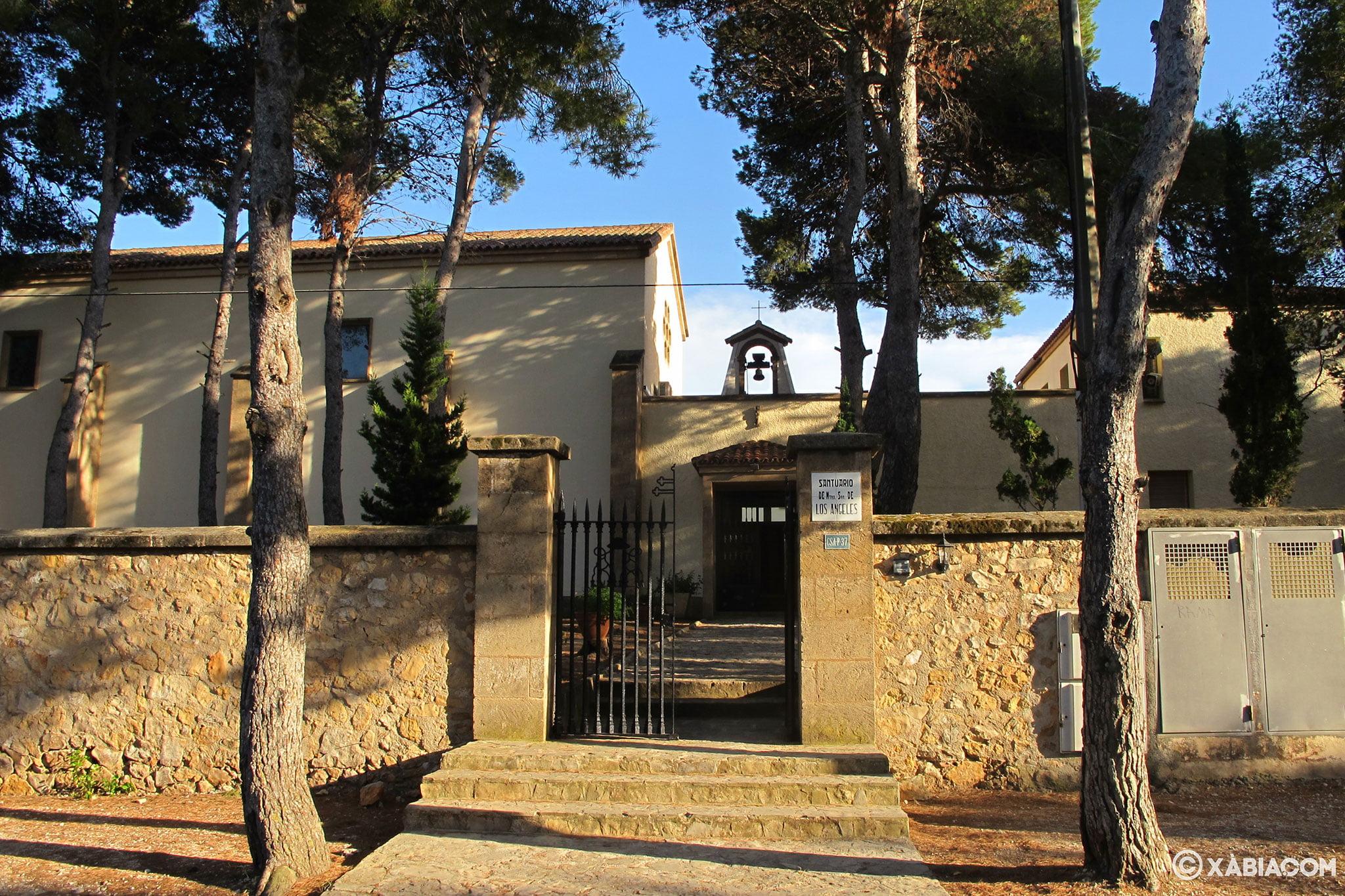 Monasterio de Nuestra Señora de los Ángeles, en Xàbia