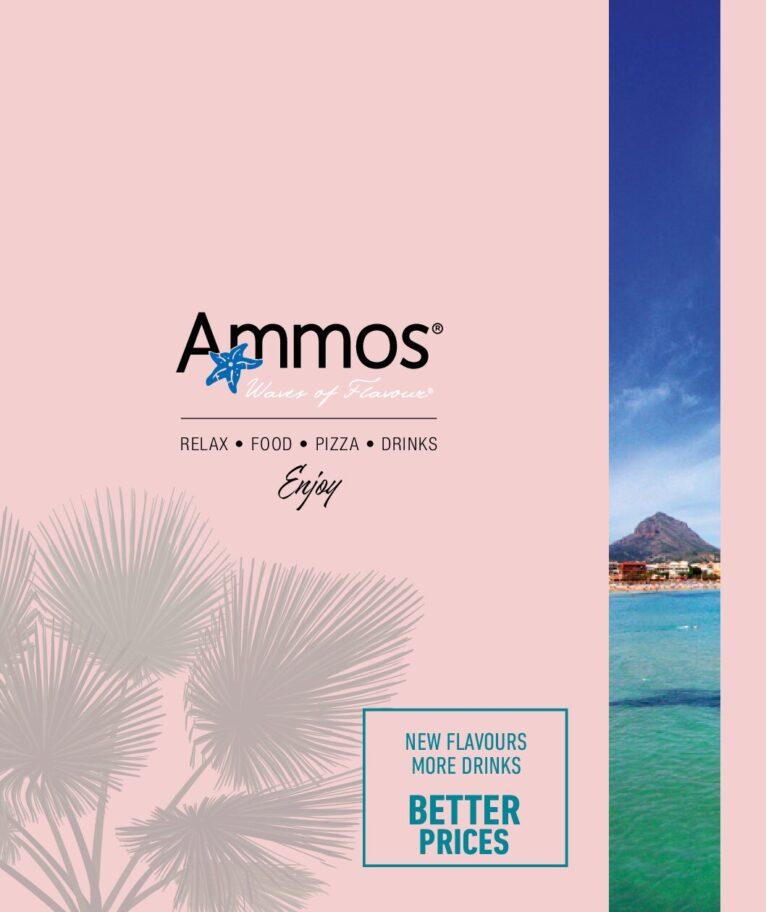 Nueva carta Restaurante Ammos