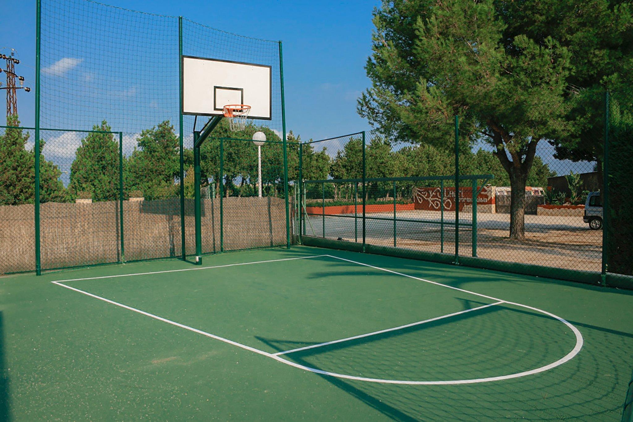 Pista de basket – Camping Jávea