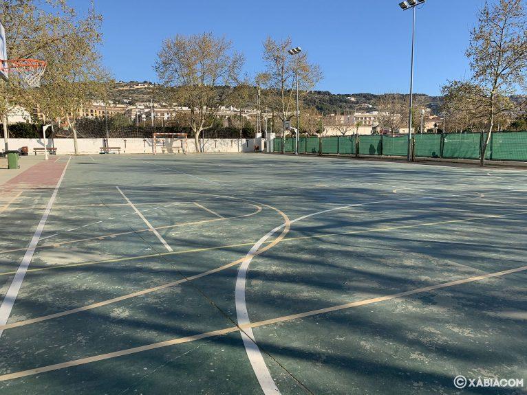 Pista de deporte del colegio Trenc d'alba