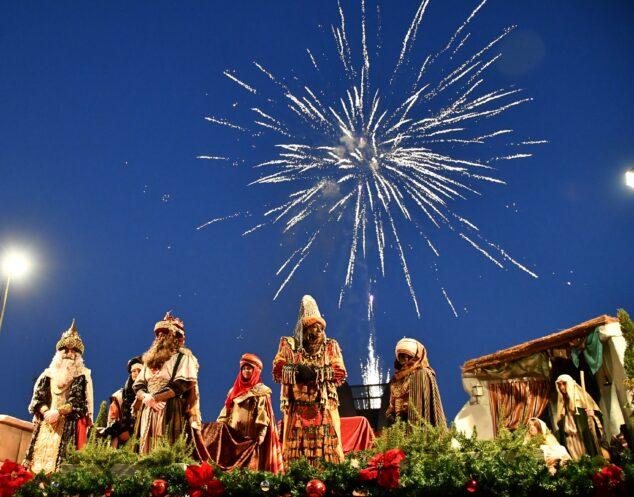 Imagen: Recepción de los Reyes Magos