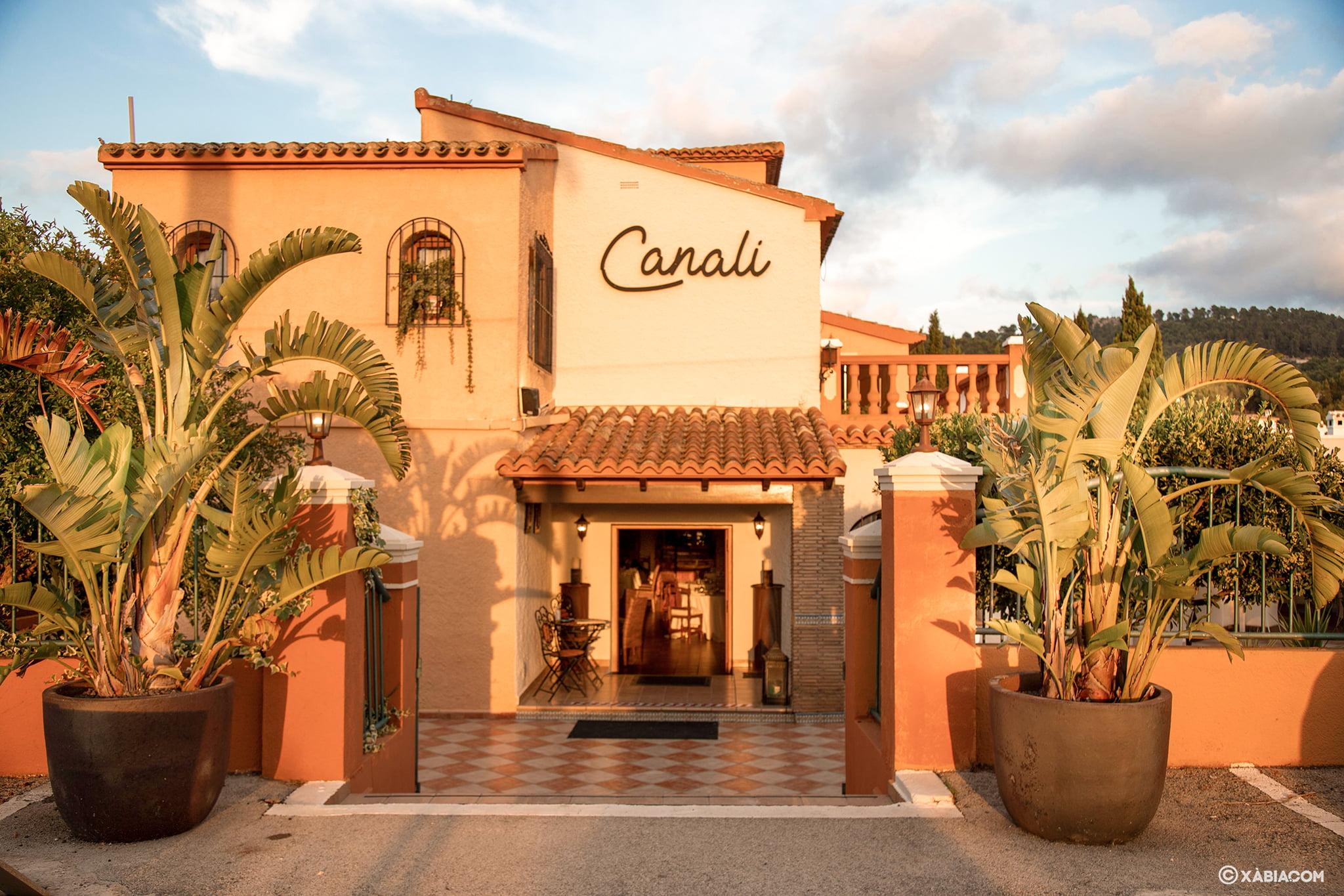 Entrada de Restaurante Canali