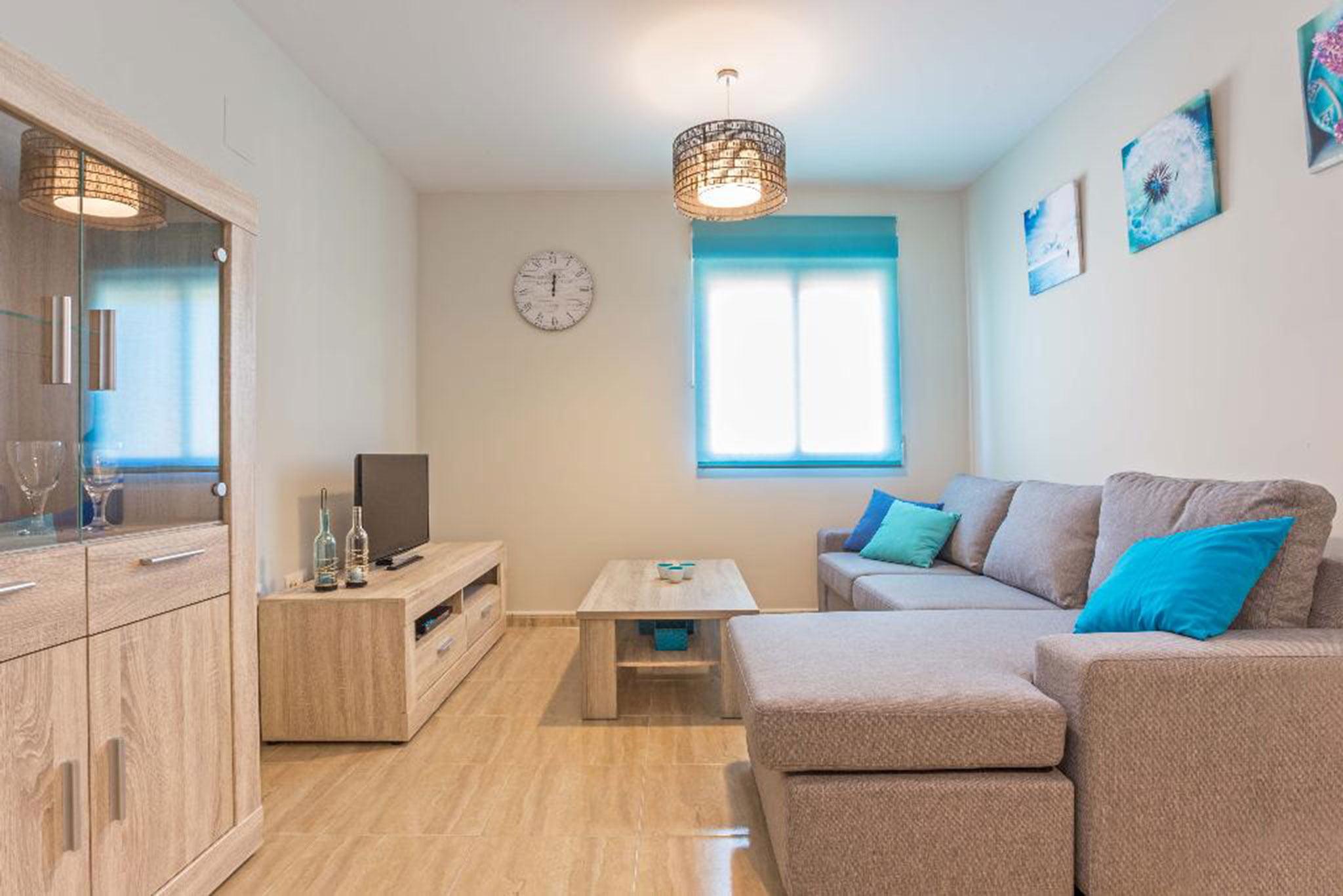 Salón de un apartamento en alquiler en Jávea – MMC Properties