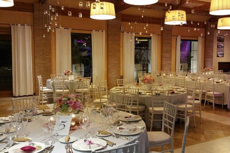 Salón de celebraciones en Hotel Les Rotes