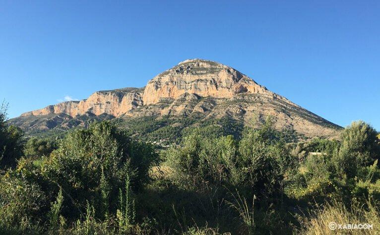 Cara sur del Montgó