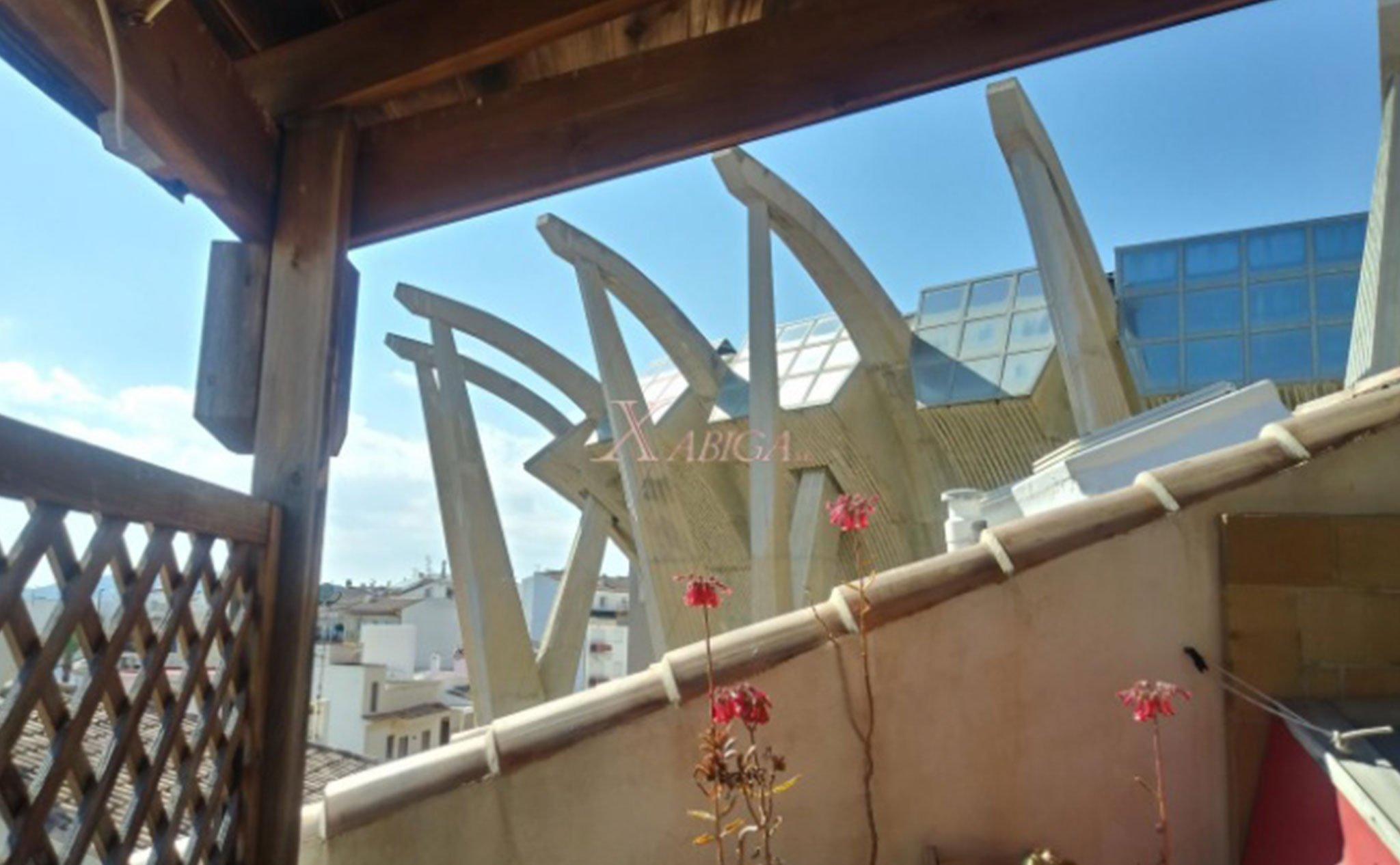 Vista desde una casa de pueblo en venta – Xabiga Inmobiliaria