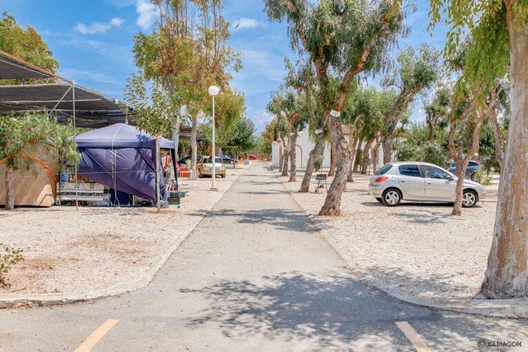 Vista general de Camping Jávea