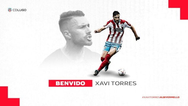 Imatge: Xavi Torres fitxa pel CD Lugo