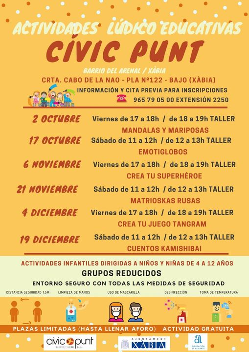 Imagen: Actividades Civic Punt