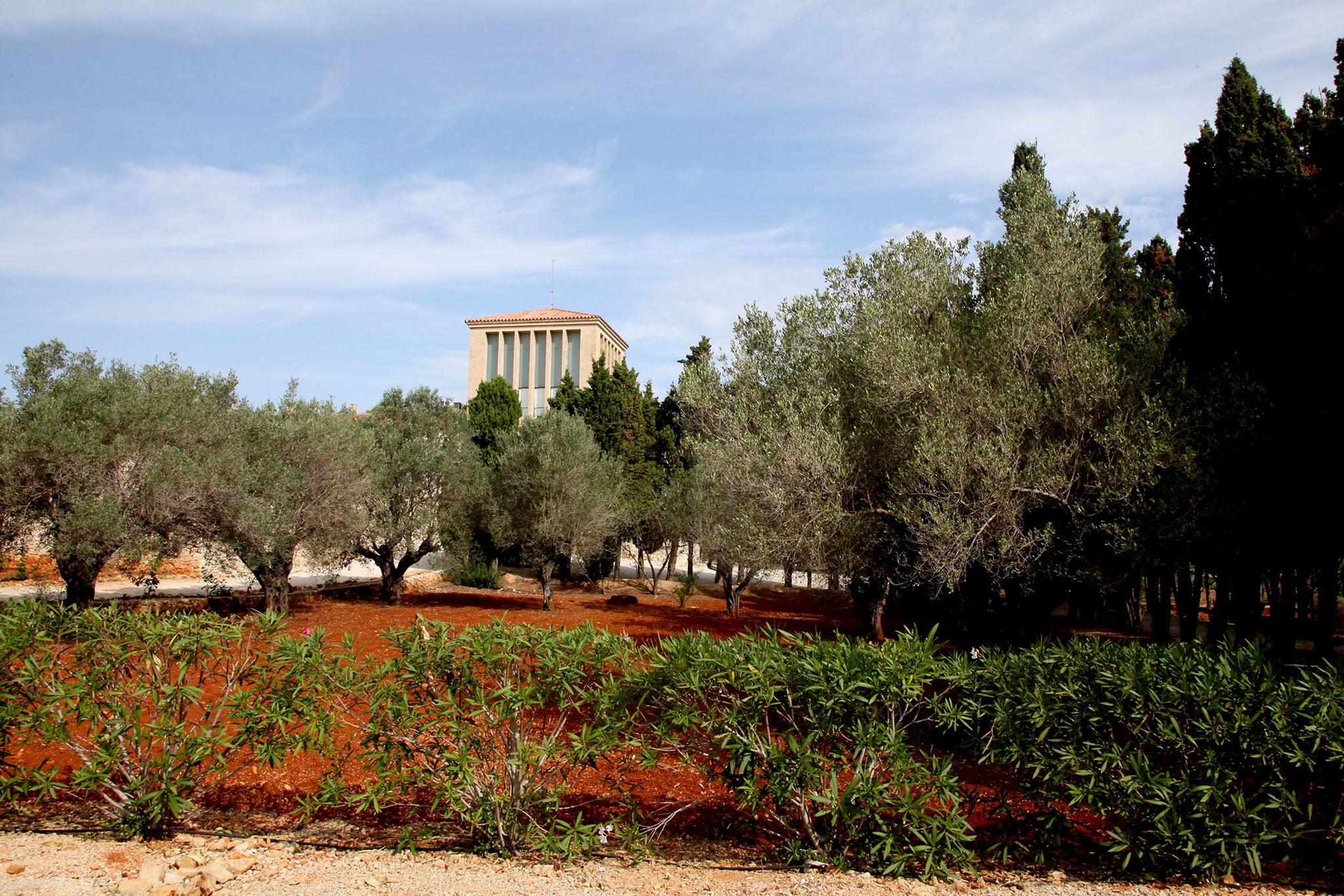 Alrededores del Monasterio de la Plana de Jávea