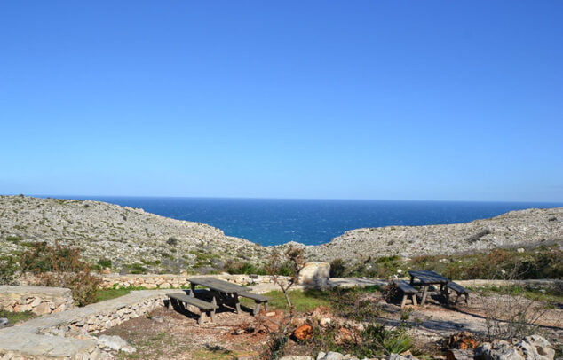 Imagen: Área recreativa de La Plana de Sant Jeroni en Xàbia