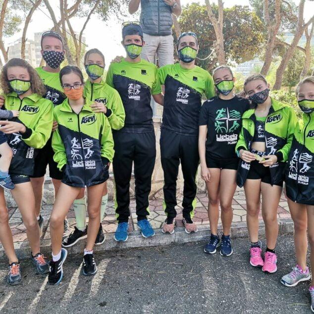 Imagen: Atletas del Llebeig en Campello