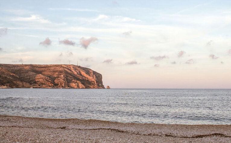 El Cap de Sant Antoni visto desde el Primer Muntanyar en Xàbia