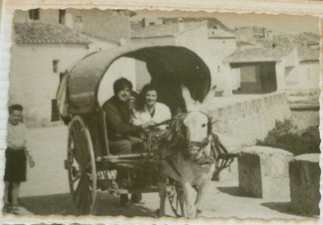 Imagen: 'Carro amb vela i sorra'